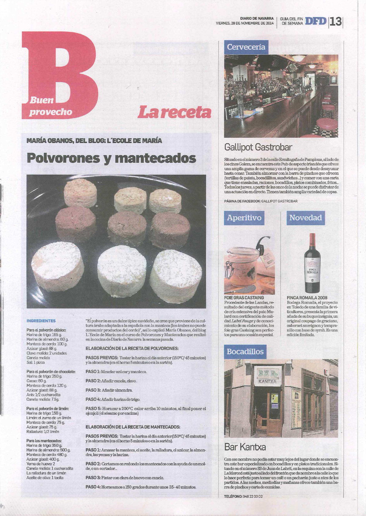 Diario de Navarra_28 noviembre 2014