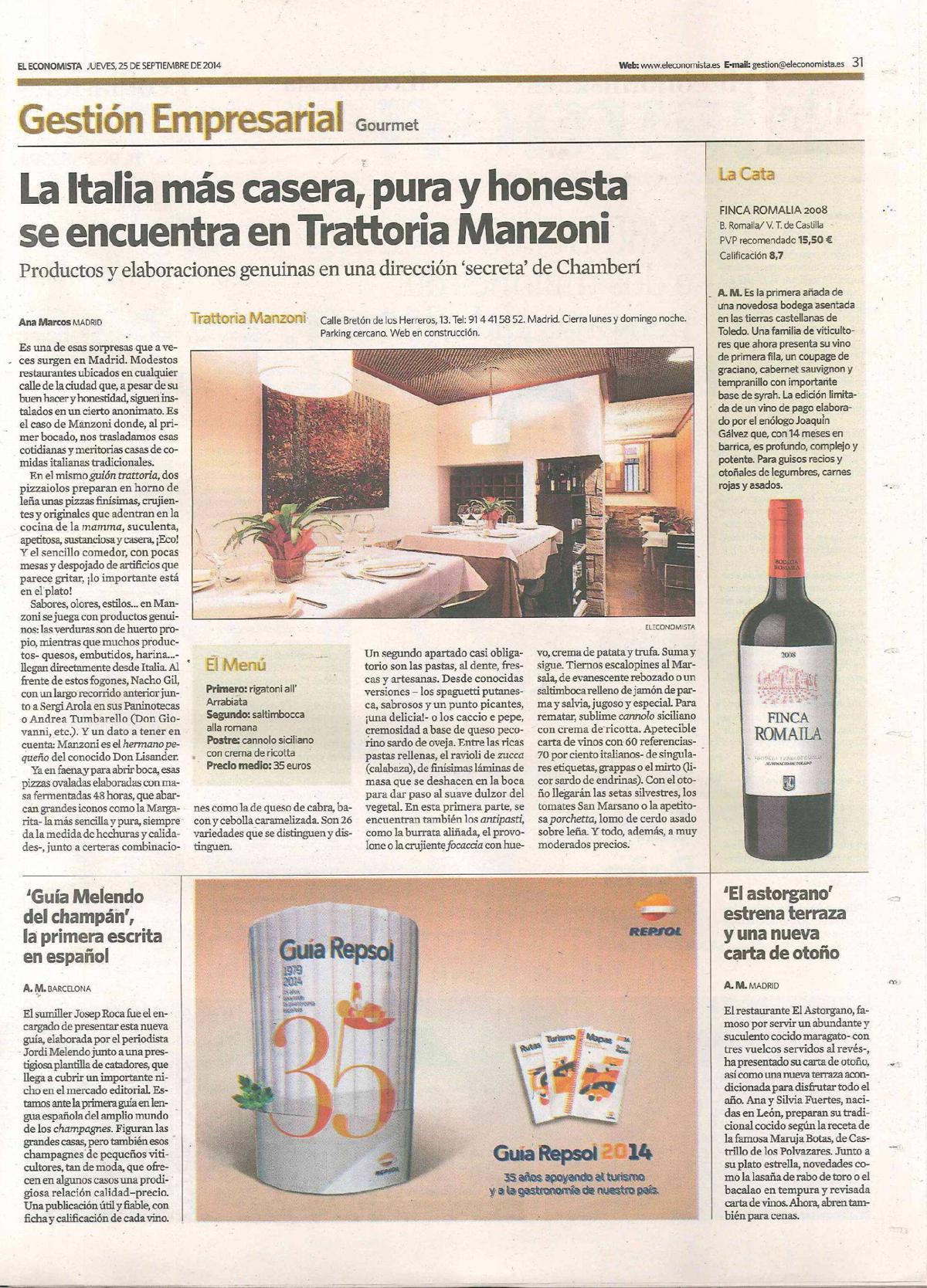 El Economista_25 septiembre 2014